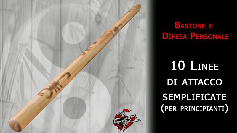 10 linne d'attacco con il bastone: Lacosta Inosanto - difesa personale