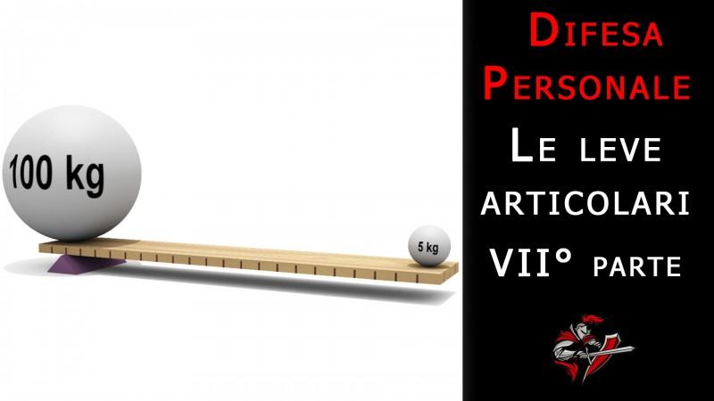 difesa personale e leve articolari 7