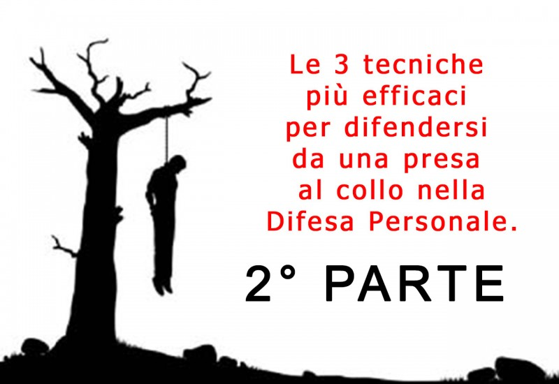Strangolamento autodifesa difesa personale