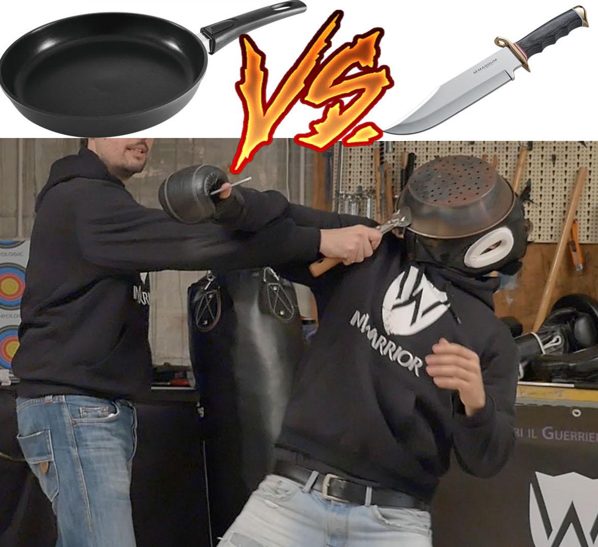 coltello vs padella difesa personale