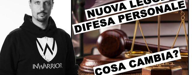 nuova legge - difesa personale