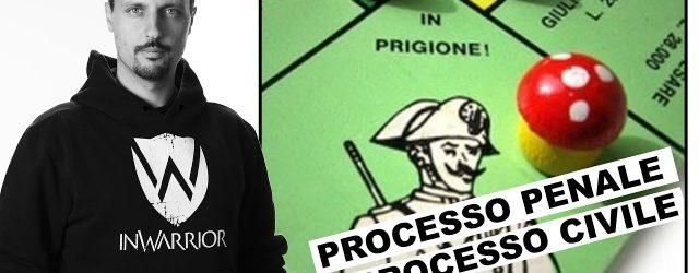 processo civile e processo penale - difesa personale